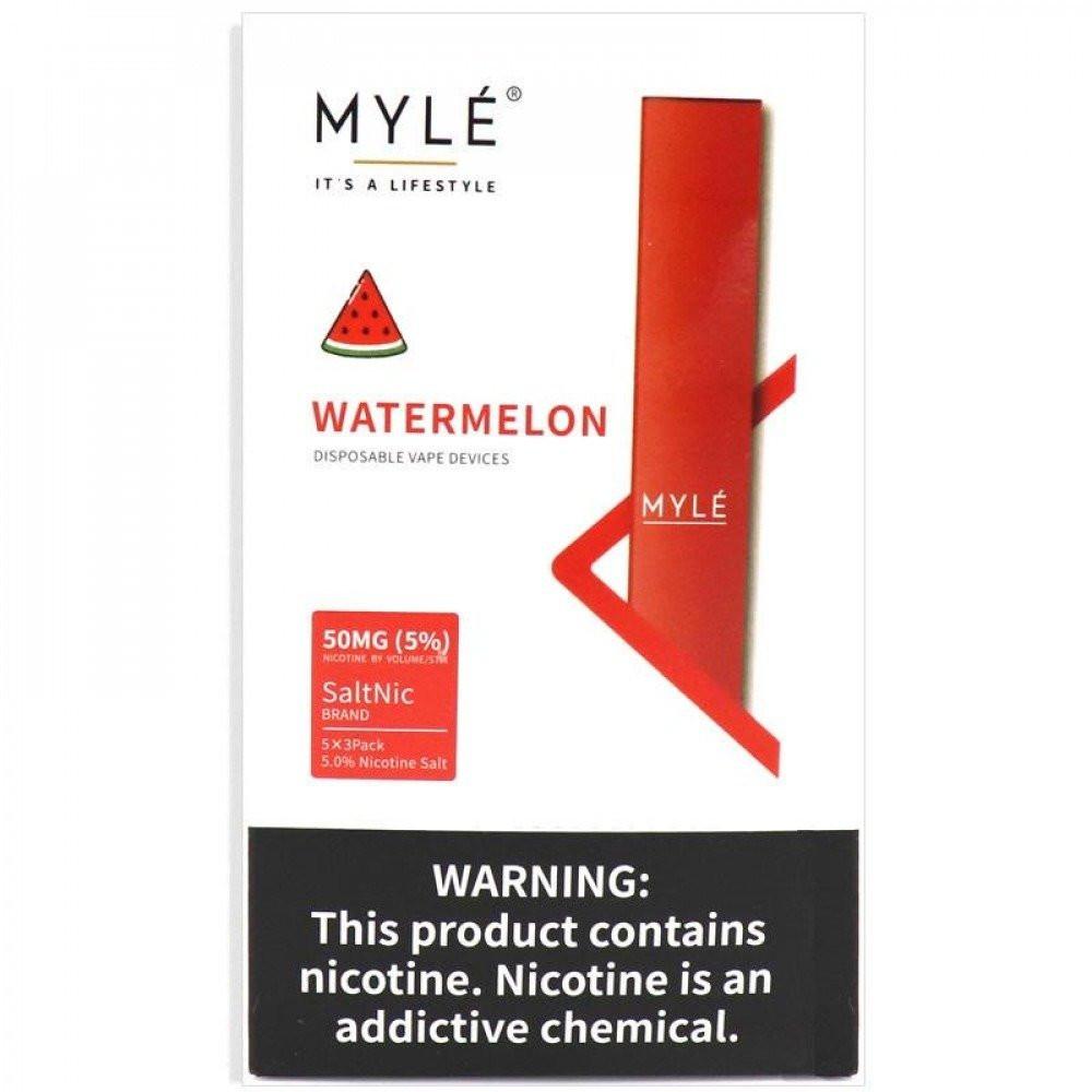 سحبة سيجارة مايلي بطيخ MYLE WATERMELON