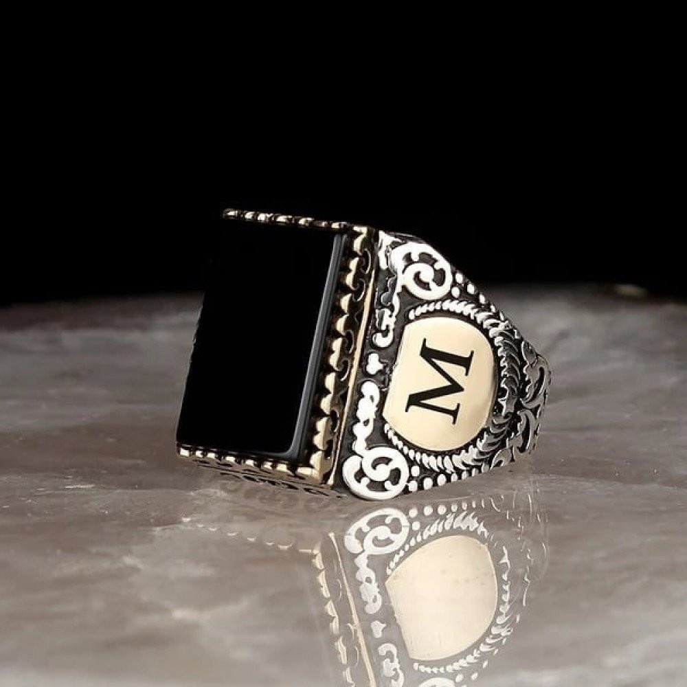 خاتم راقي من الفضة الخالصة