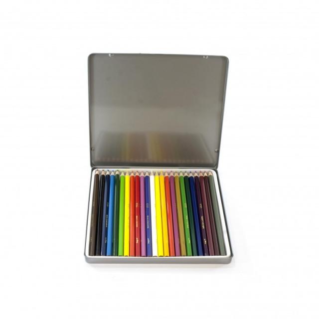 روكو طقم ألوان خشبية 24 لون قرطاسية الريادة