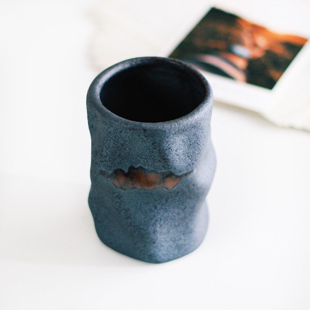 كوب حجري كوب قهوة سيراميك أدوات القهوة المختصة متجر معدات القهوة أكواب