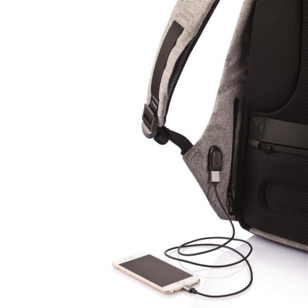 Bobby the best anti theft backpack Grey