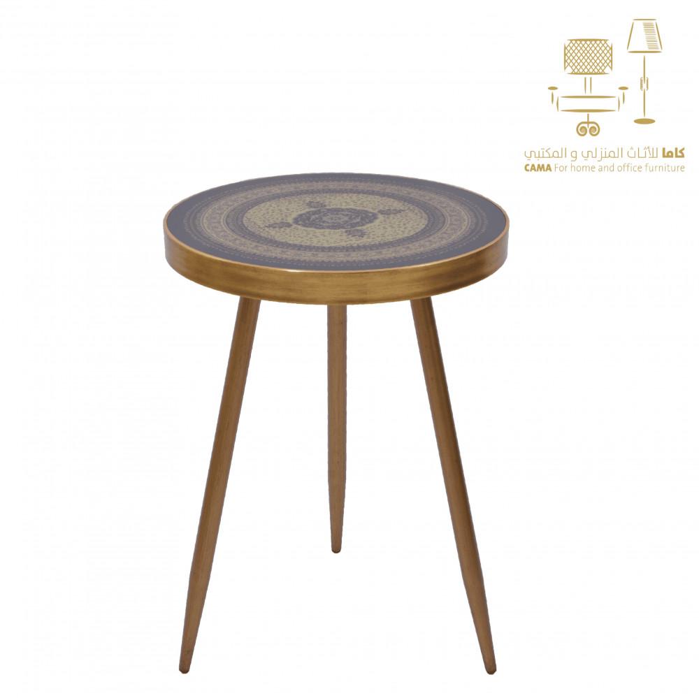 طاولة شاي وقهوة ذهبي اسود cx004 من كاما