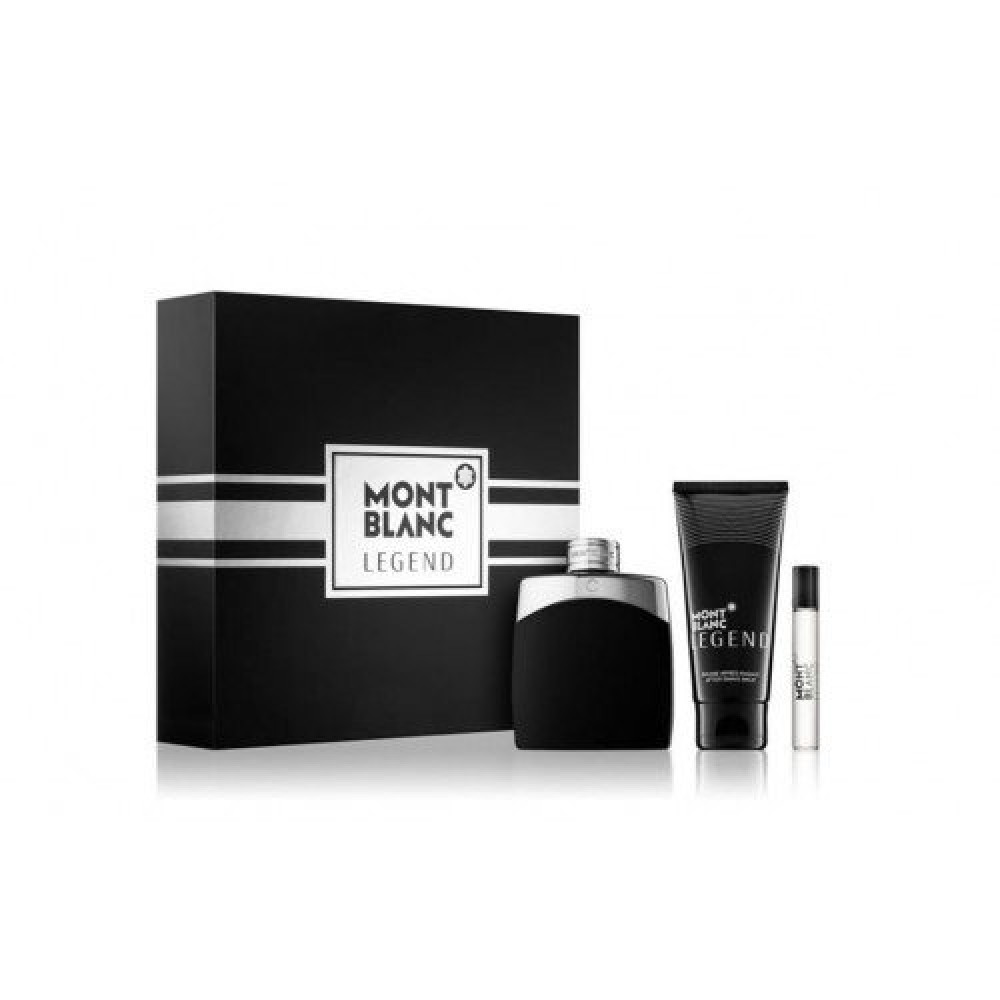Montblanc Legend Eau de Toilette 100ml 3 Gift Set خبير العطور