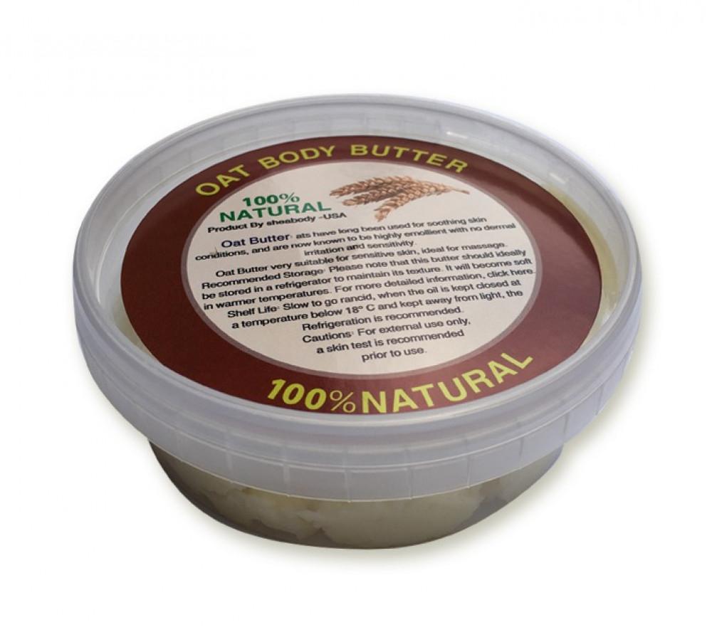 زبدة الشوفان بوزن 150 جرام خام طبيعية بدون إضافات