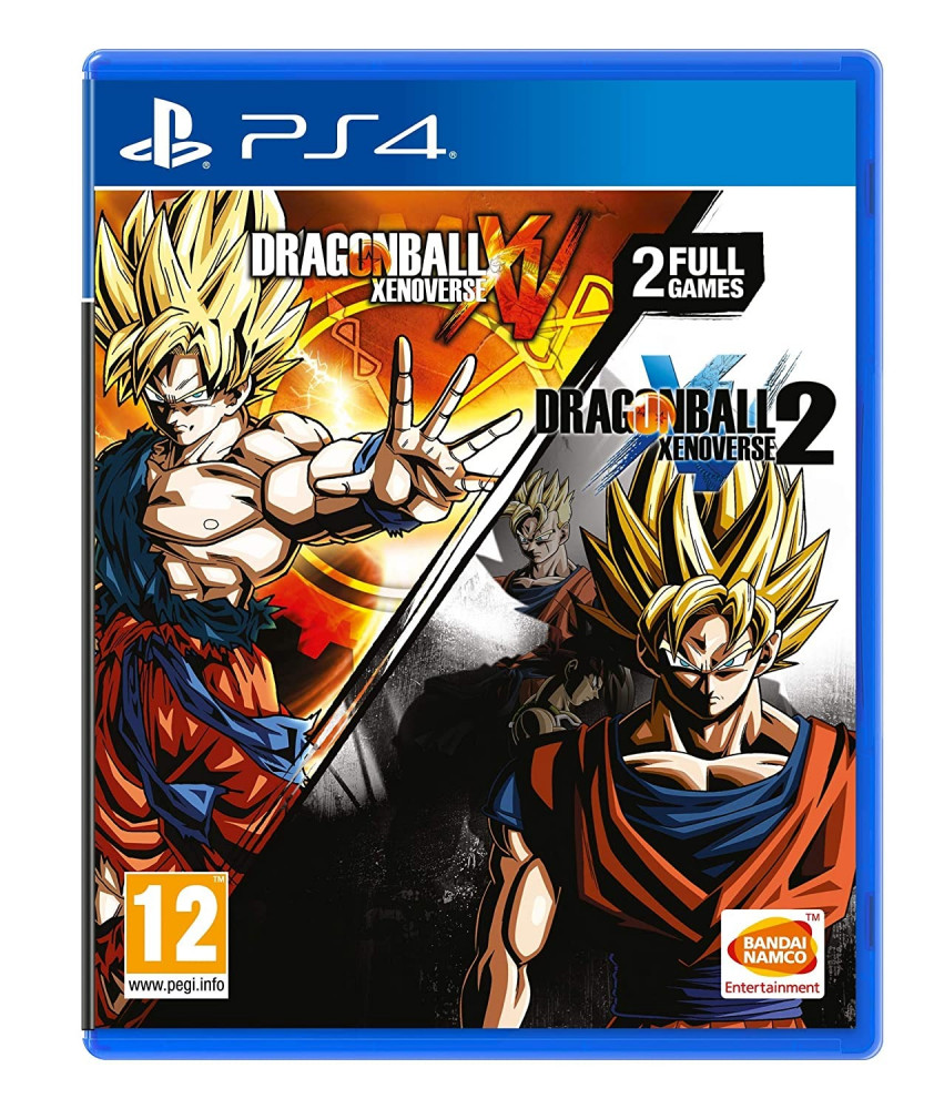 Includes Dragon Ball Xenoverse and Dragon Ball Xenoverse 2 Double Pack