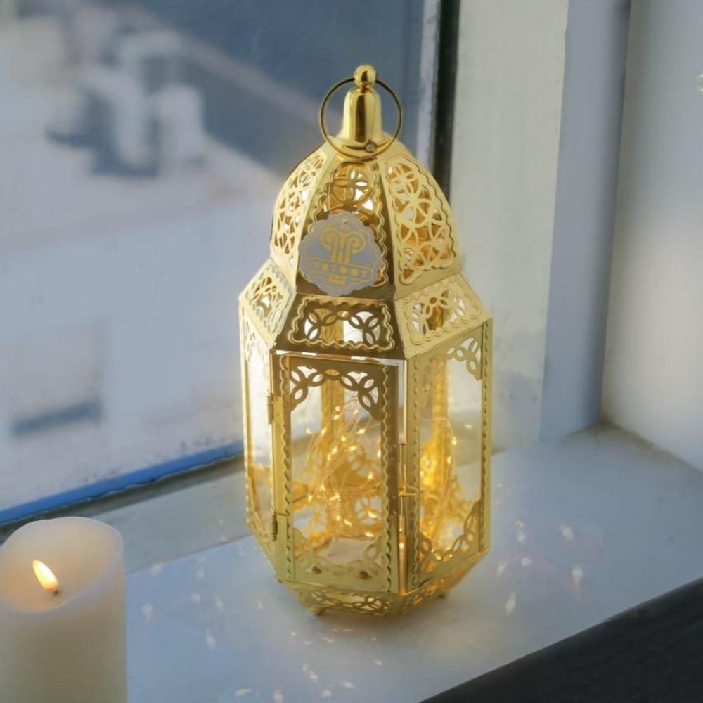 فوانيس رمضان تصاميم اسلامية فاخر ذهبي