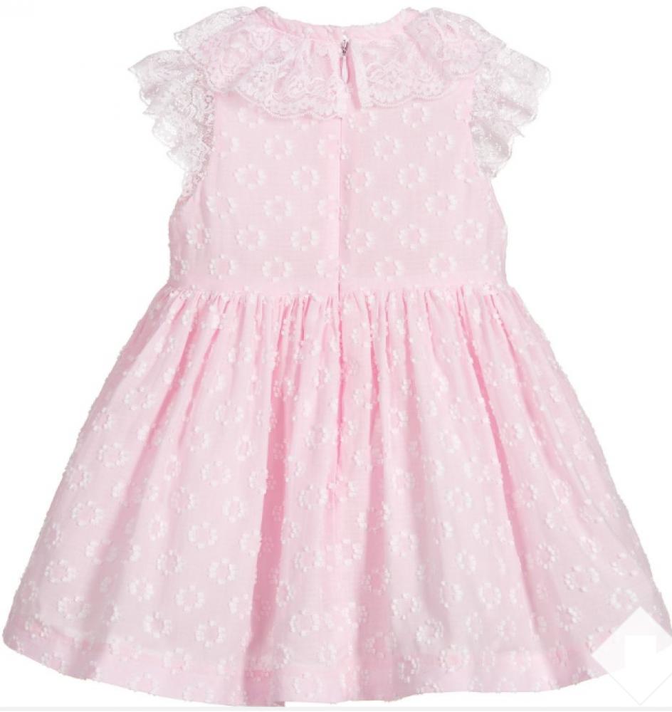 فستان انيق باللون الزهري من ماركة Piccola Speranza من دوها