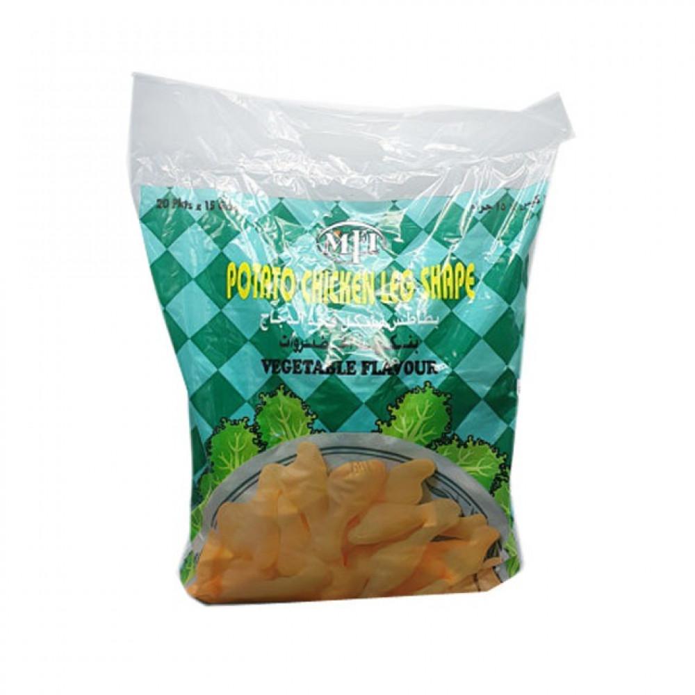 بطاطس افخاذ الدجاج بالخضروات4 20 15جم حلويات كابر