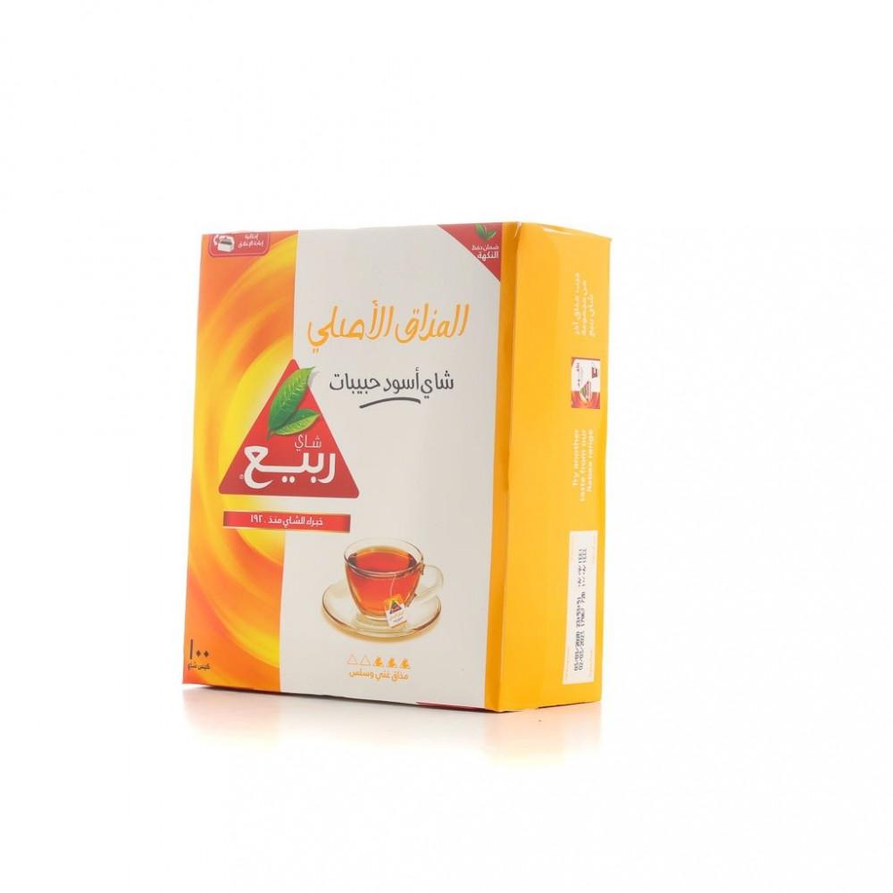 شاي ربيع اكسبريس 100 كيس باكت