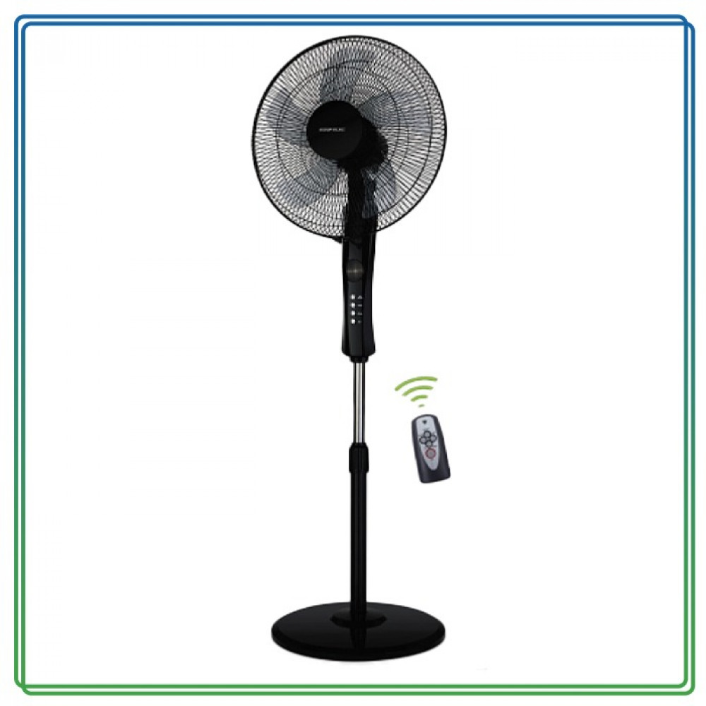 مروحة ستاند مع ريموت السيف الك 60 واط Alsaif Elec Stand Fan E05905