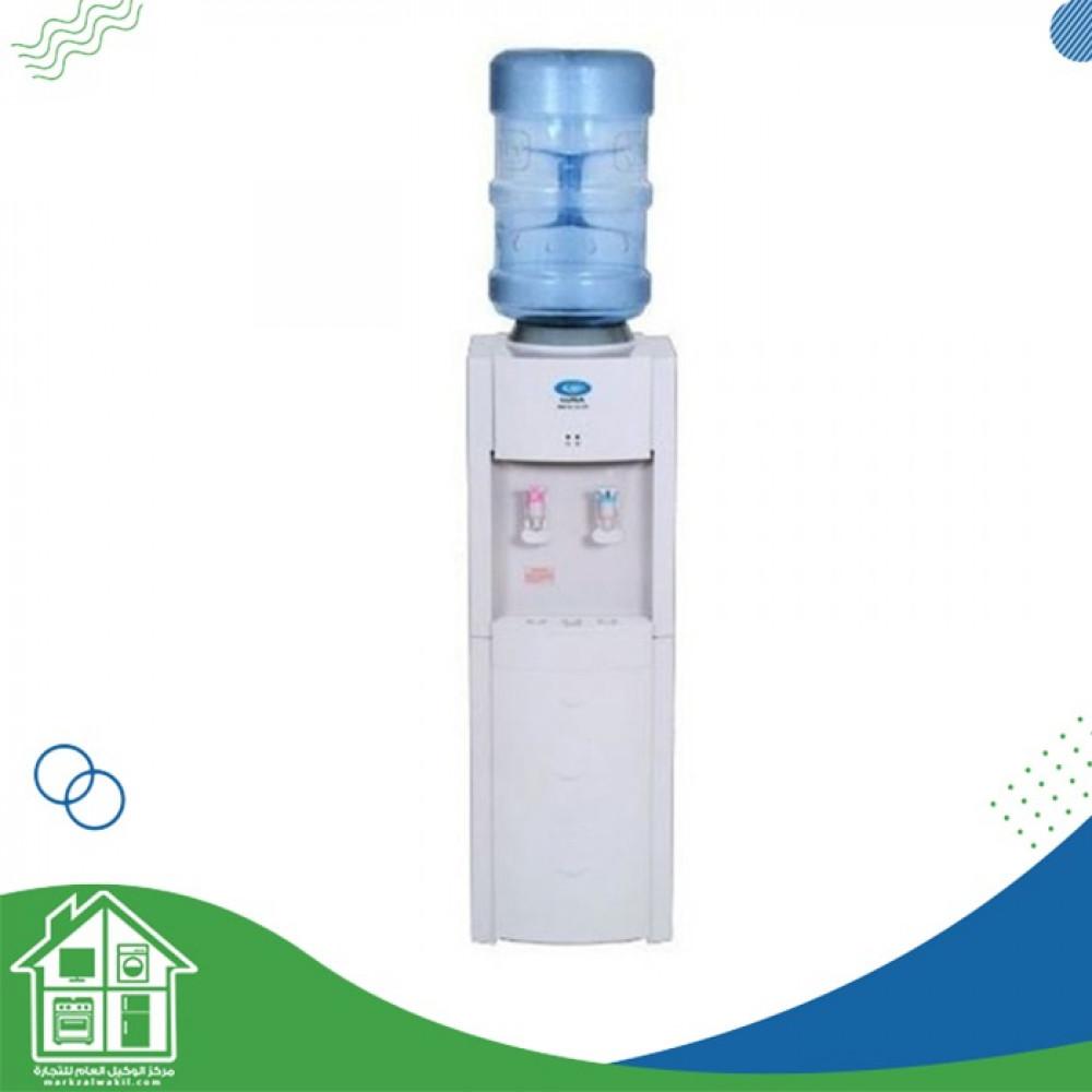 لونا برادة مياه حار وبارد  استاند 2 صنبور  صنع في كوريا  ابيض - LCL-22