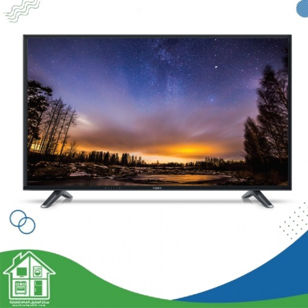 امبكس 45 انش LED تلفزيون ذكي اسود - GLORIA 45 SMART