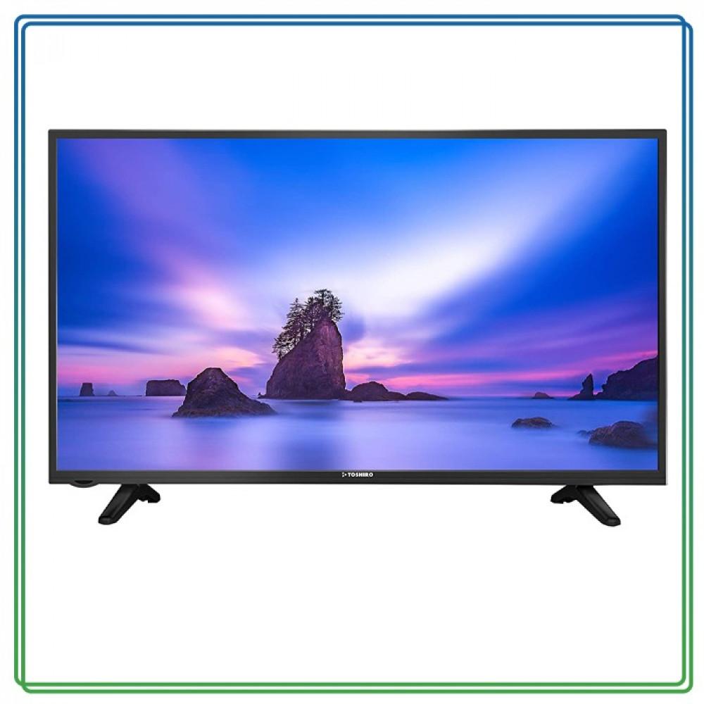 تلفزيون LED ذكي بدقة فائقة كاملة43-Inch بوصة TRO43SLED أسود