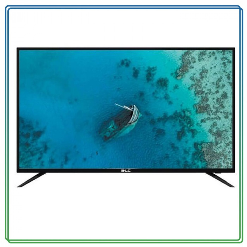 ايه تي سي تلفزيون ذكي 55 انش  4K UHD LED  اسود E-LD-55UHD