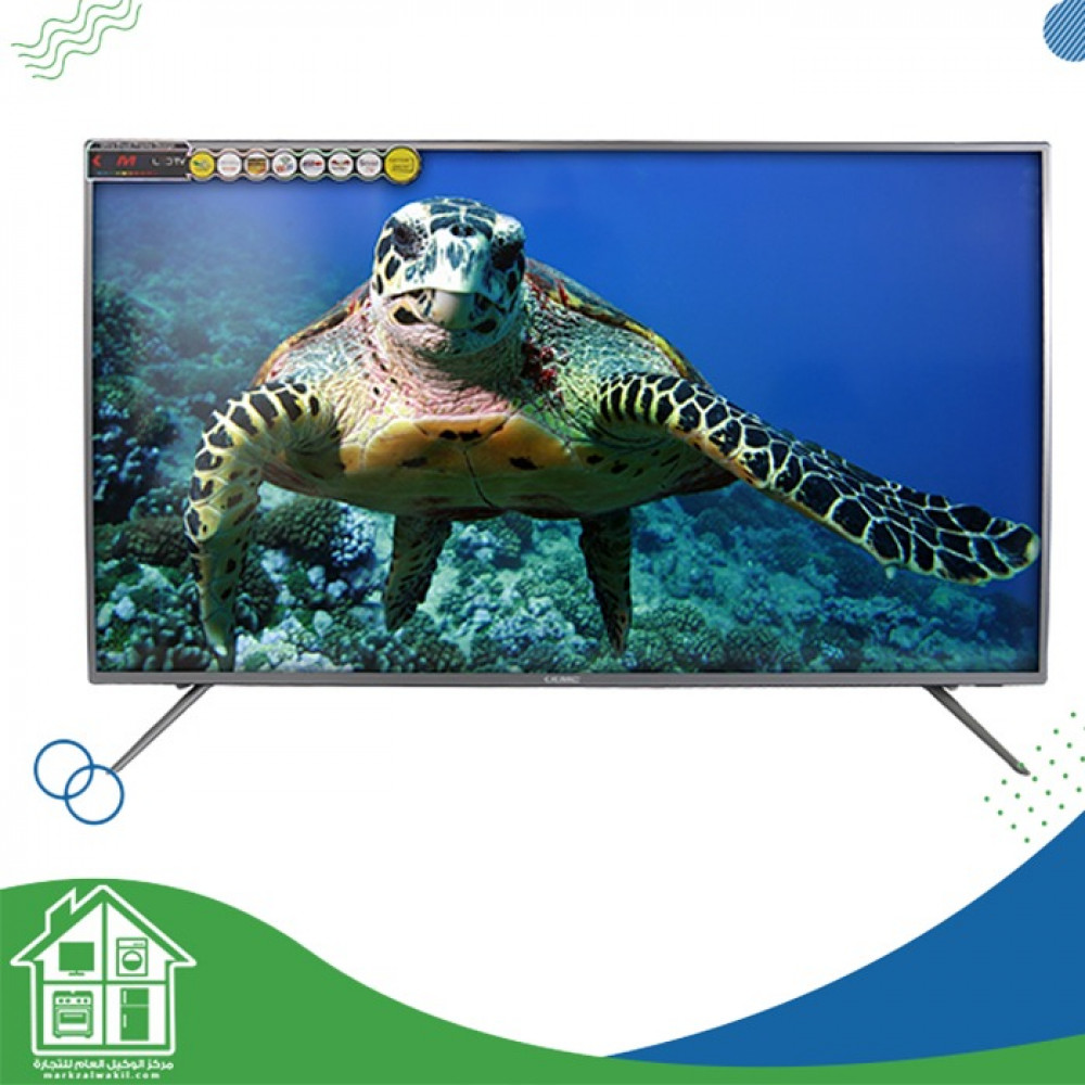 تلفزيون كي ام سي 42 بوصة ليد ذكي اسود - k20m42260s