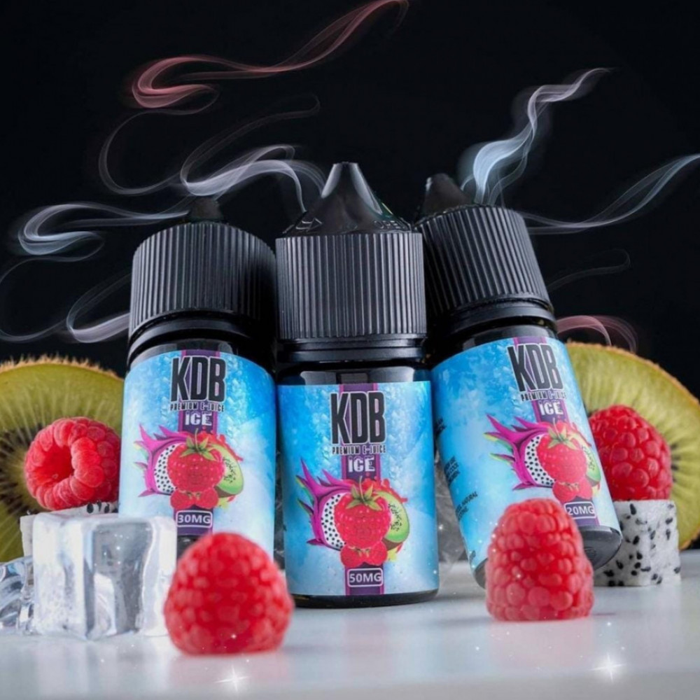 نكهة كي دي بي مكس فواكه مشكلة ايس سولت نيكوتين - KDB MIX FRUIT ICE- Sa