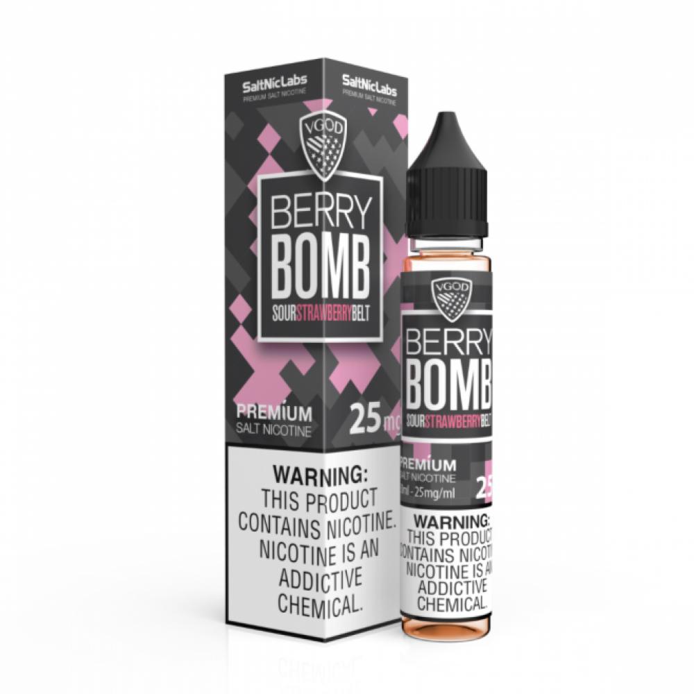 نكهة فيقود فراولة سولت نيكوتين - VGOD Berry Bomb - Salt Nicotine