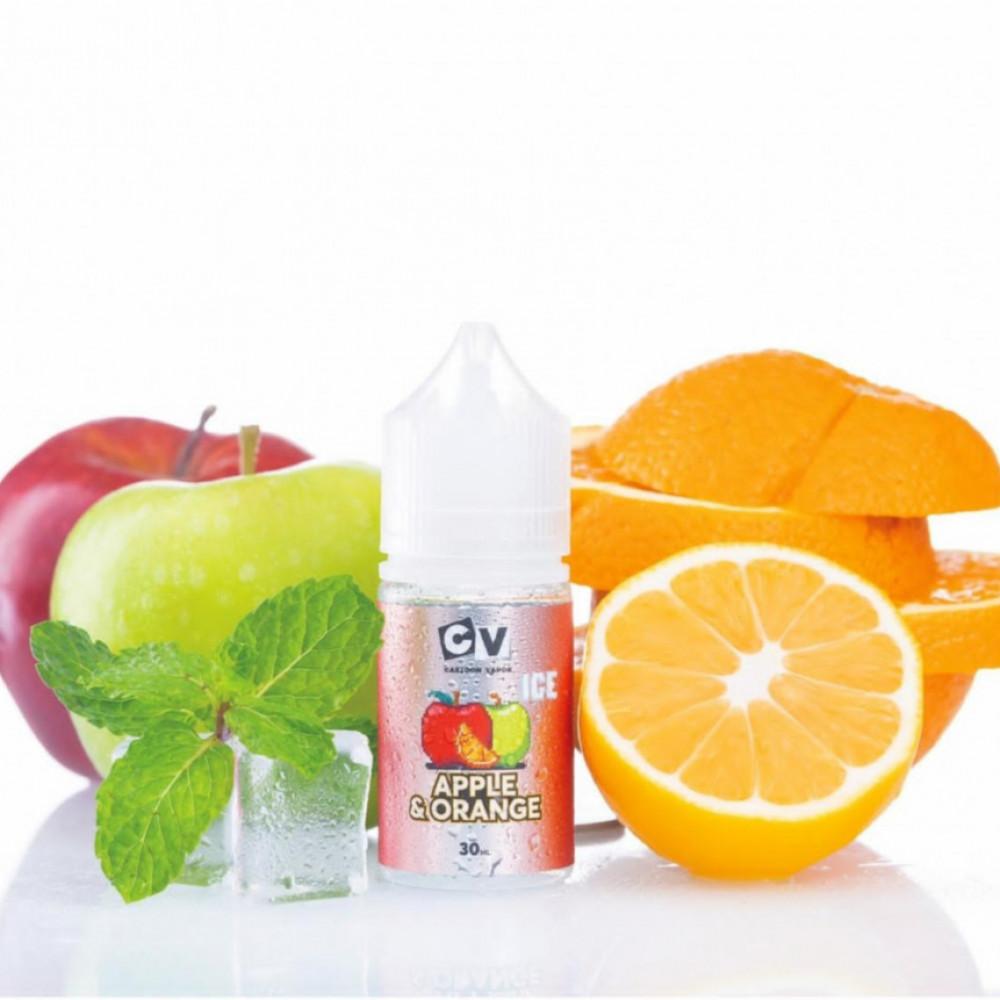 نكهة سي في تفاح برتقال آيس سولت نيكوتين - CV APPLE ORANGE ICE - Salt N