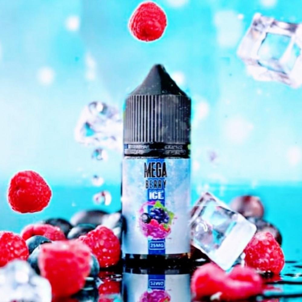 نكهة ميجا توت مكس ايس سولت نيكوتين - MEGA BERRY ICE - Salt Nicotine