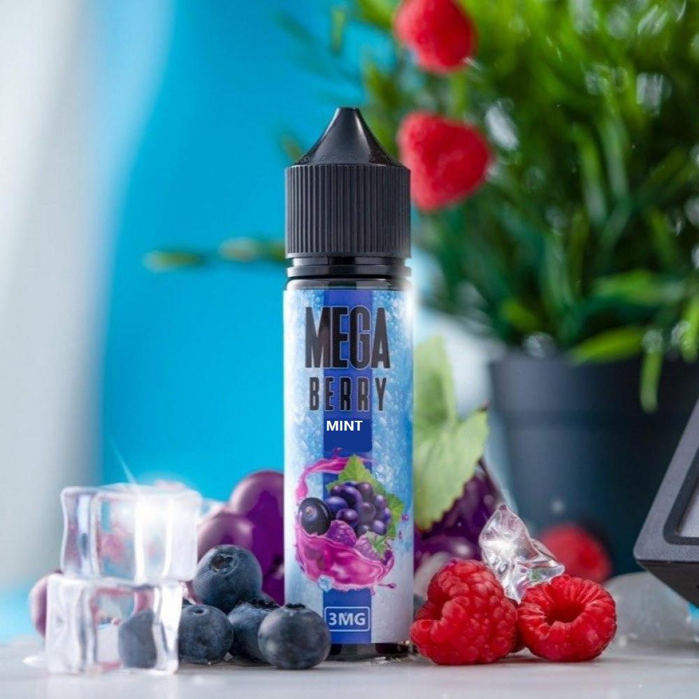 نكهة ميجا مكس توت منت 60 ملي - MEGA BERRY MINT - 60ML