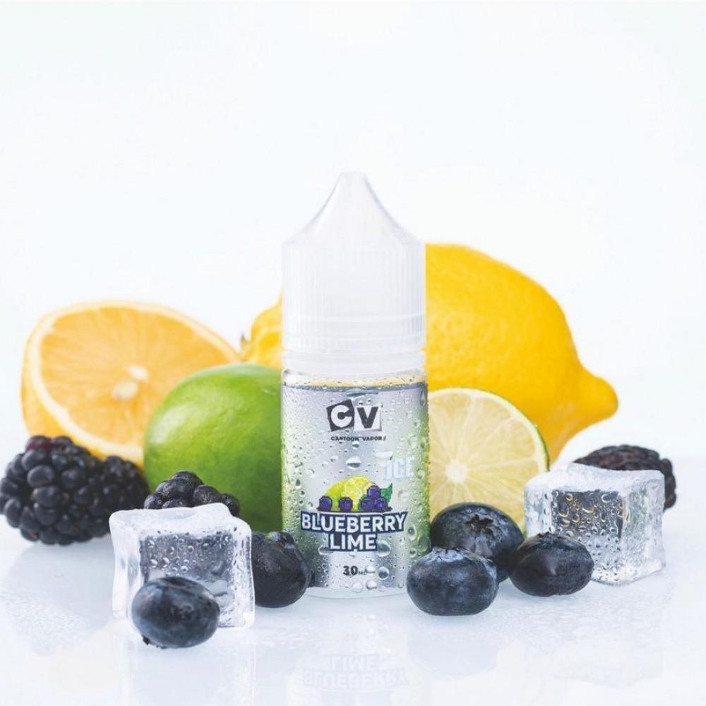 نكهة سي في توت ليمون آيس سولت نيكوتين - CV BLUEBERRY LIME ICE - Salt N