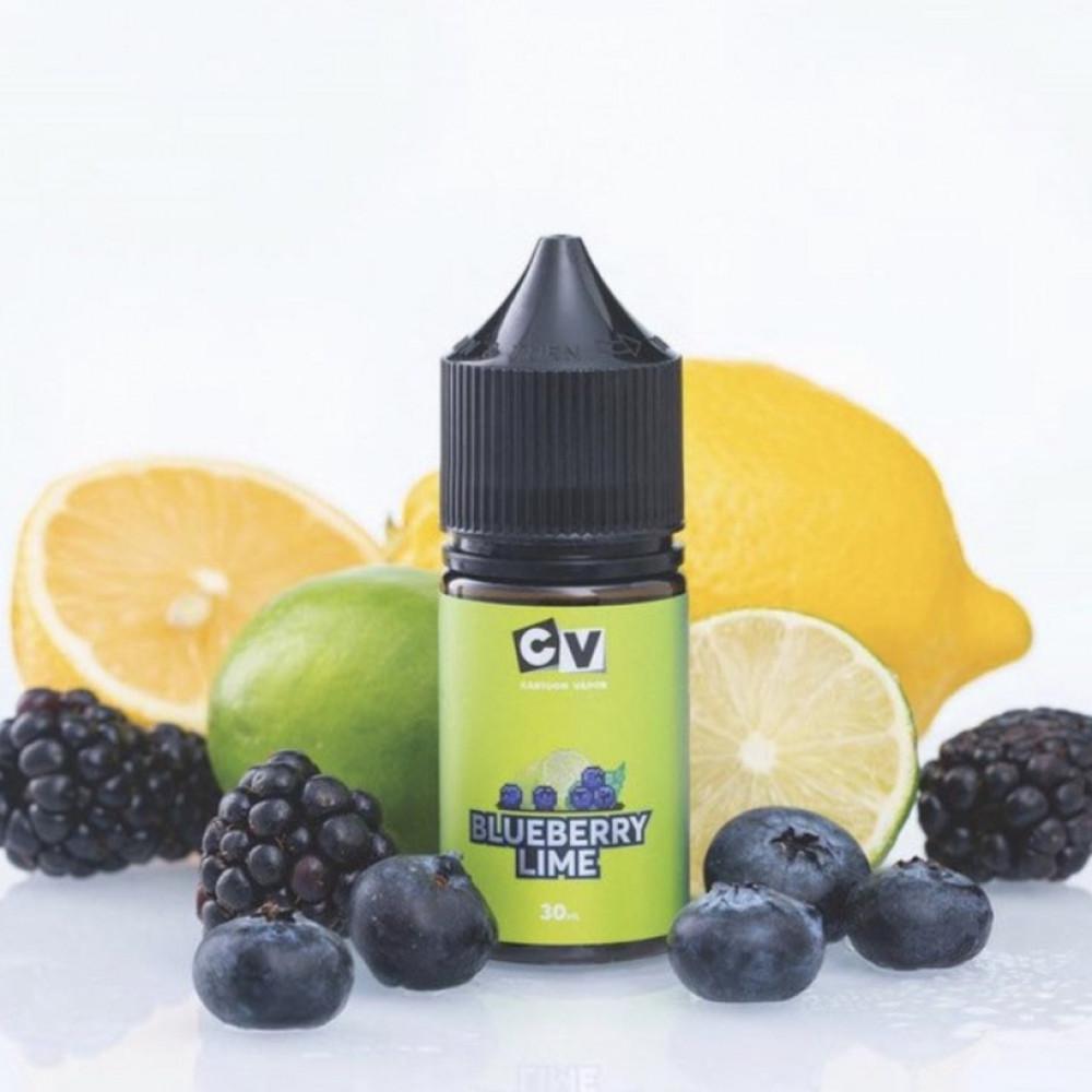 نكهة سي في توت ليمون سولت نيكوتين - CV BLUEBERRY LIME - Salt Nicotine