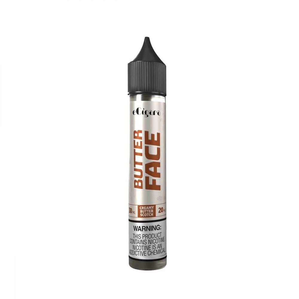 نكهة بتر فيس  سولت نيكوتين - ECIGARA BUTTER FACE - Salt Nicotine
