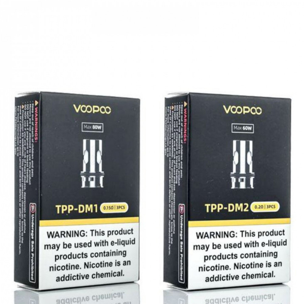 كويلات دراق اكس بلس و دراق 3 - TPP - DM VOOPOO Replacement Coils