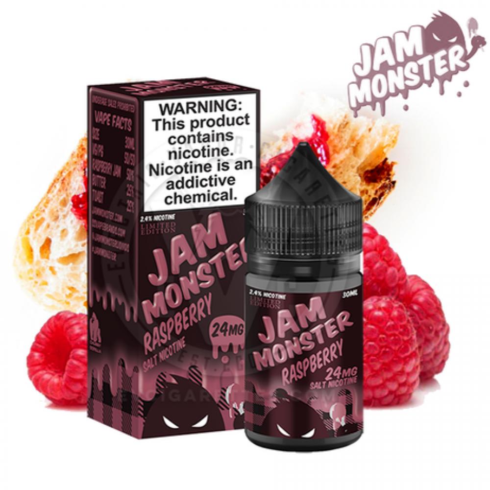 نكهة جام مونيستر توت سولت نيكوتين - JAM Monster RASPBERRY - Salt Nicot