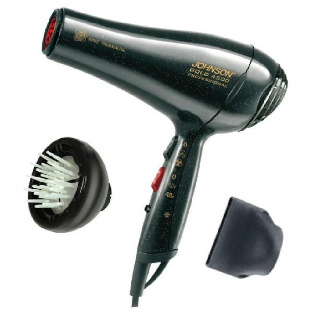 طقم مجفف شعر جولد 4500 مع مساج من جونسون - 2200 واط