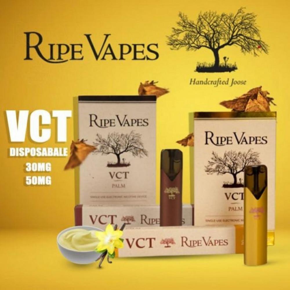 RIPE VAPES DISPOSABLE PALM DEVICE - VCT سحبة جاهزة معبأة لنكهة VCT