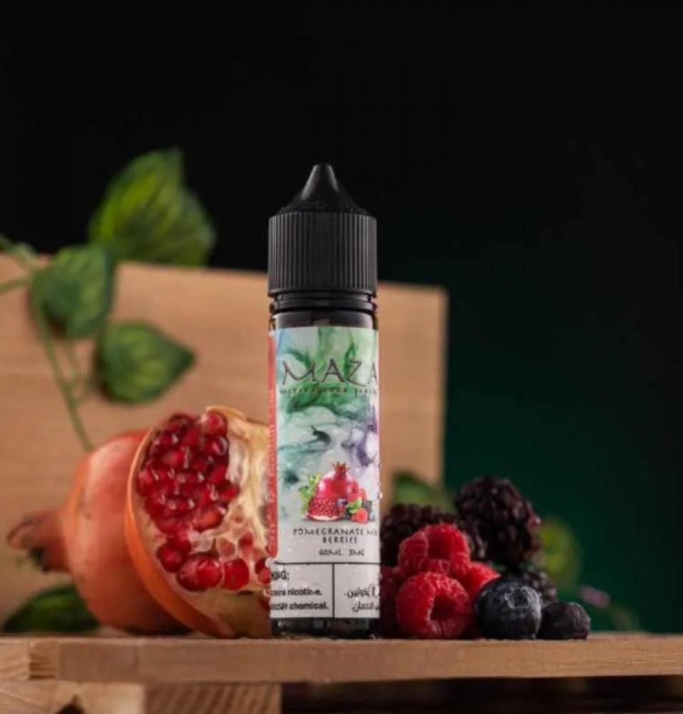 نكهه مزاج رمان مكس بيري 60 مل - Maza - Pomegranate Mix Berry 60ML