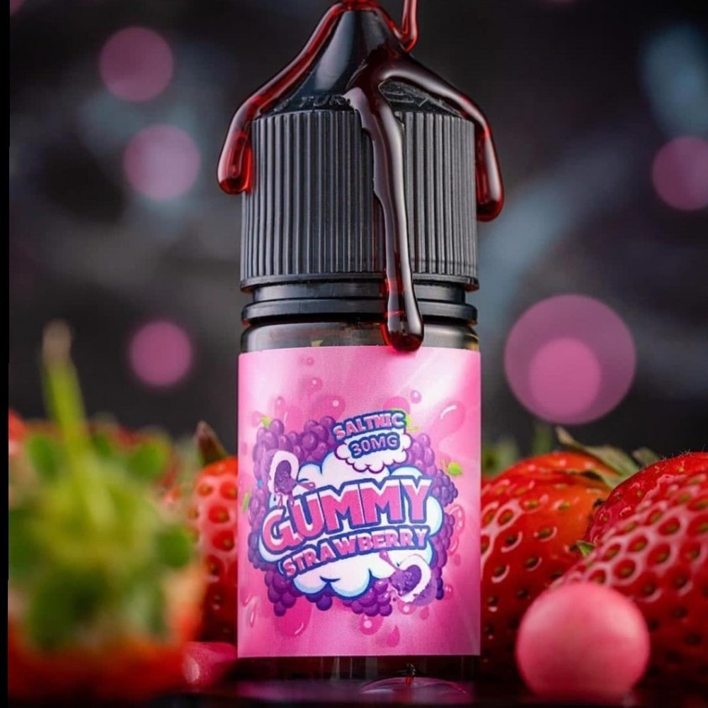Gummy Strawberry salt نكهة قمي فراولة سولت