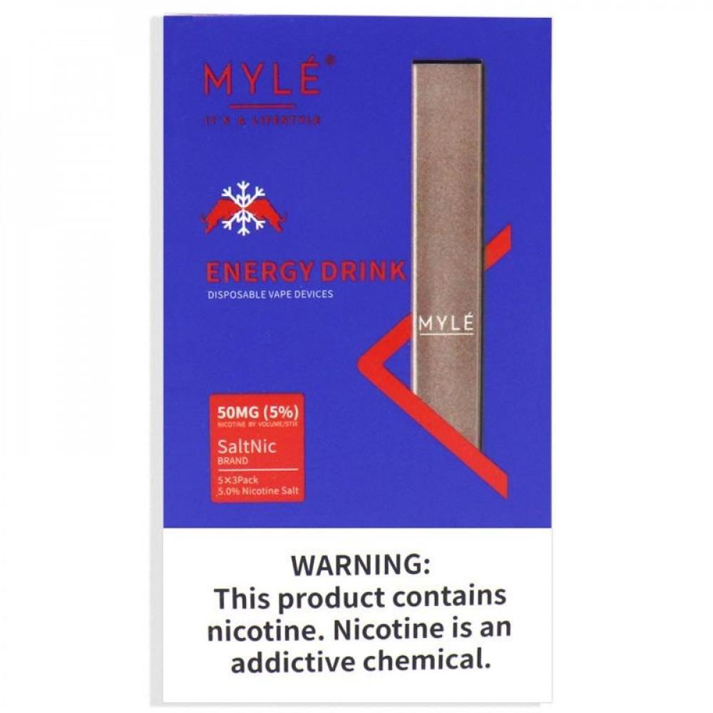سحبة سيجارة مايلي ريد بول MYLE ENERGY DRINK