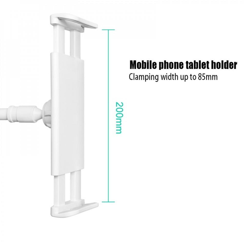 حامل الهواتف العالمي ذو الذراع الطويلة القابلة للانفصال والتي يمكن ترك