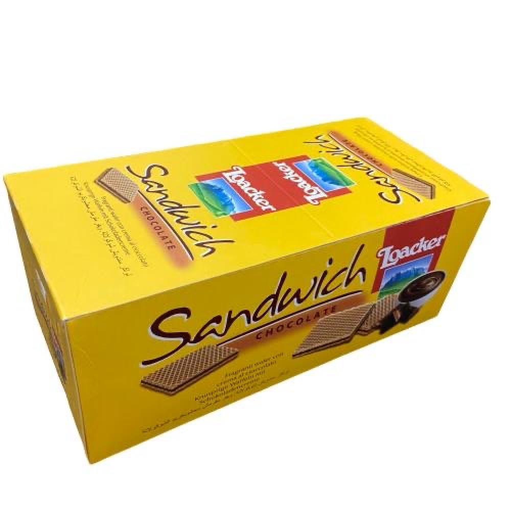 ويفر لواكر بكريمة الشوكولاتة اصفر صغير 25 قطعة متجر أنواع الحلويات Candy Kinds تجدون كل ما ببالكم من حلويات وشوكولاته