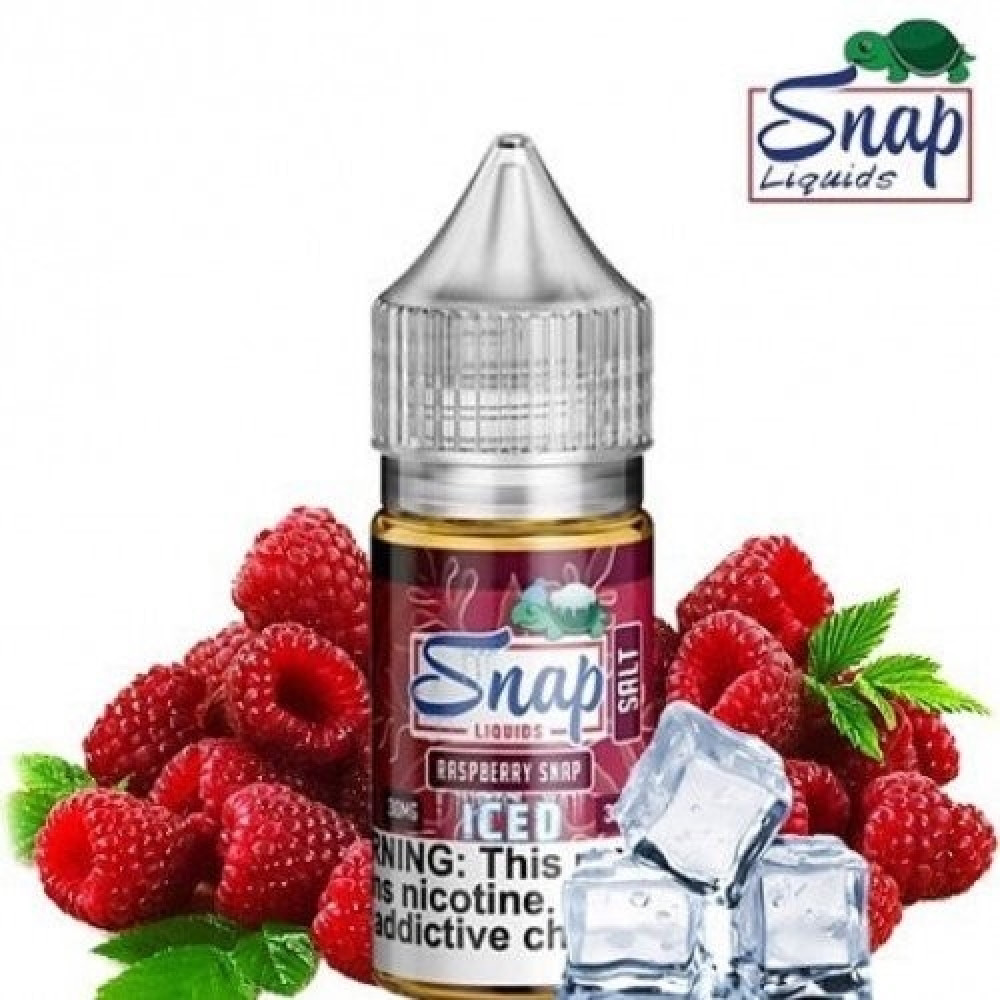 SNAP RASPBERRY ICED - Salt Nicotine - شيشة سيجارة نكهات VAPE فيب