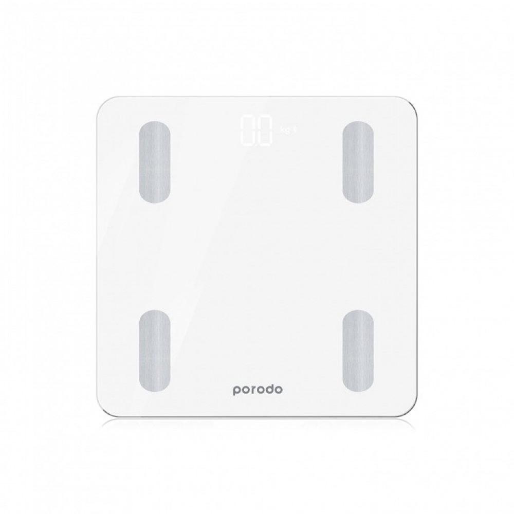 الميزان الذكي من PORODO - أبيض