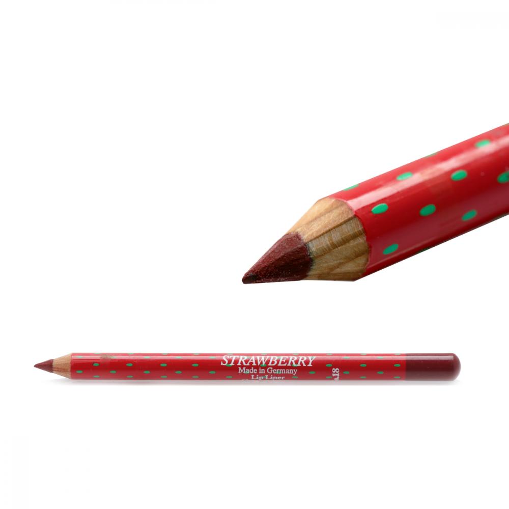 Strawberry  Lip Liner Pencil No-18