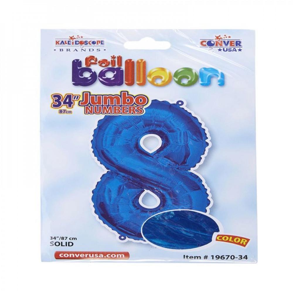 بالون أزرق, بالون رقم 8, Blue Balloon, بلونات أرقام