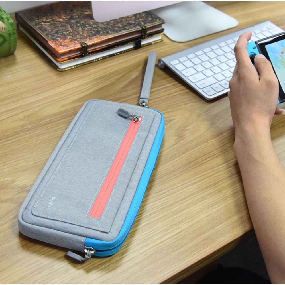 Wiwu Nintendo Switch Cozy Soft Case Grey