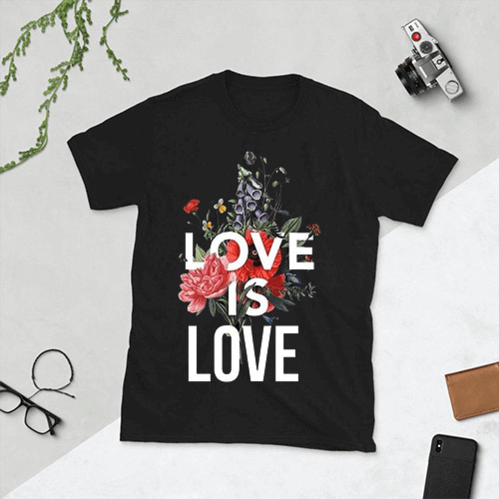 تيشيرت الحب قطن ناعم