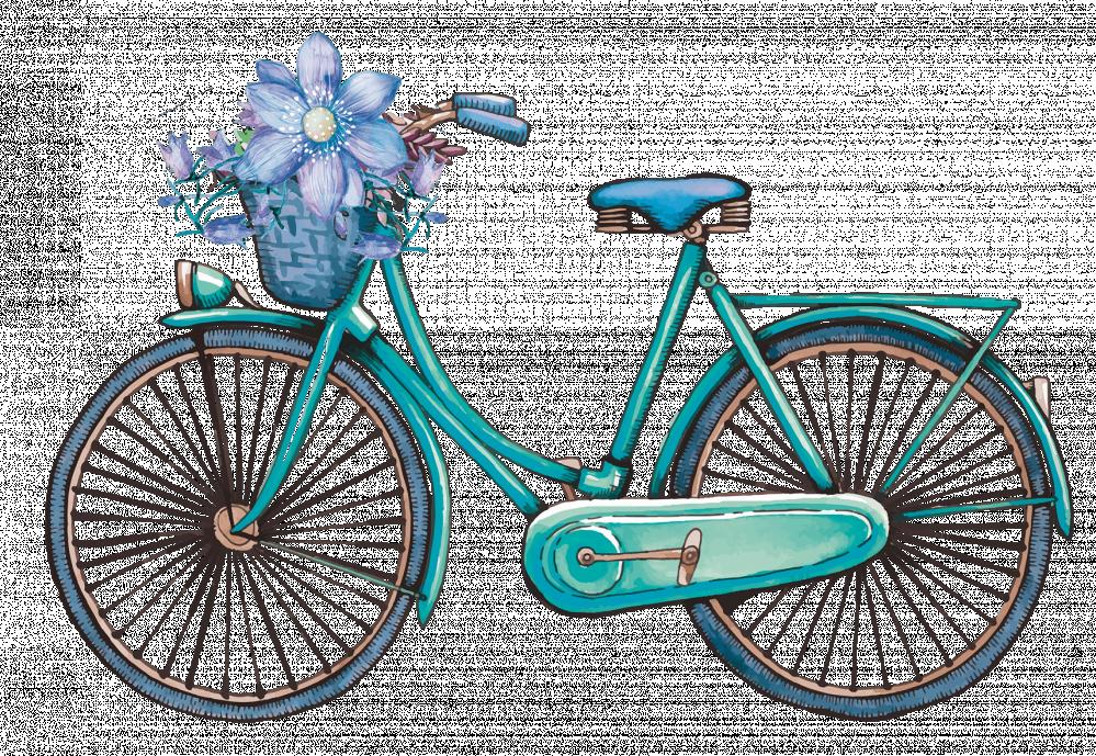 دراجة الورد