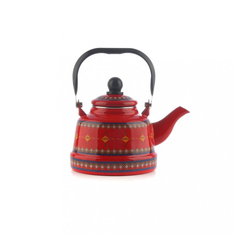 ابريق شاي مغربي منقوش