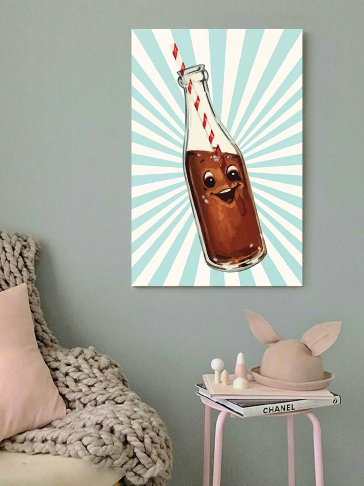لوحة الكولا خشب ام دي اف مقاس 40x60 سنتيمتر