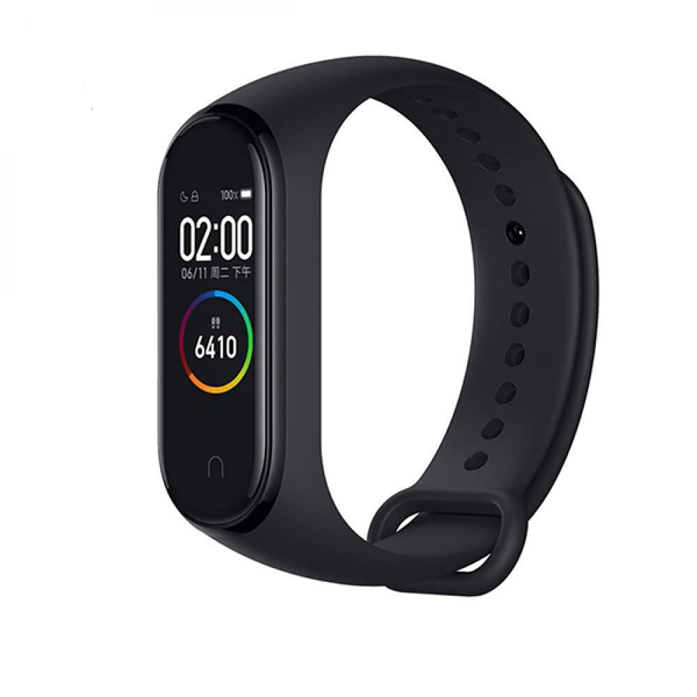 ساعة شاومي مي باند 4 بشاشة لمس ملونة لتتبع اللياقة البدنية