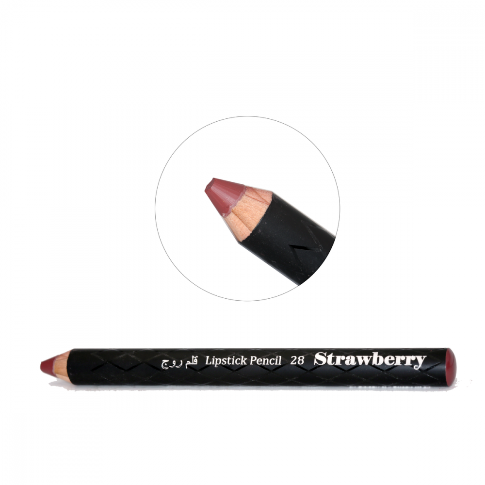 Strawberry Lipstick Pencil No-28