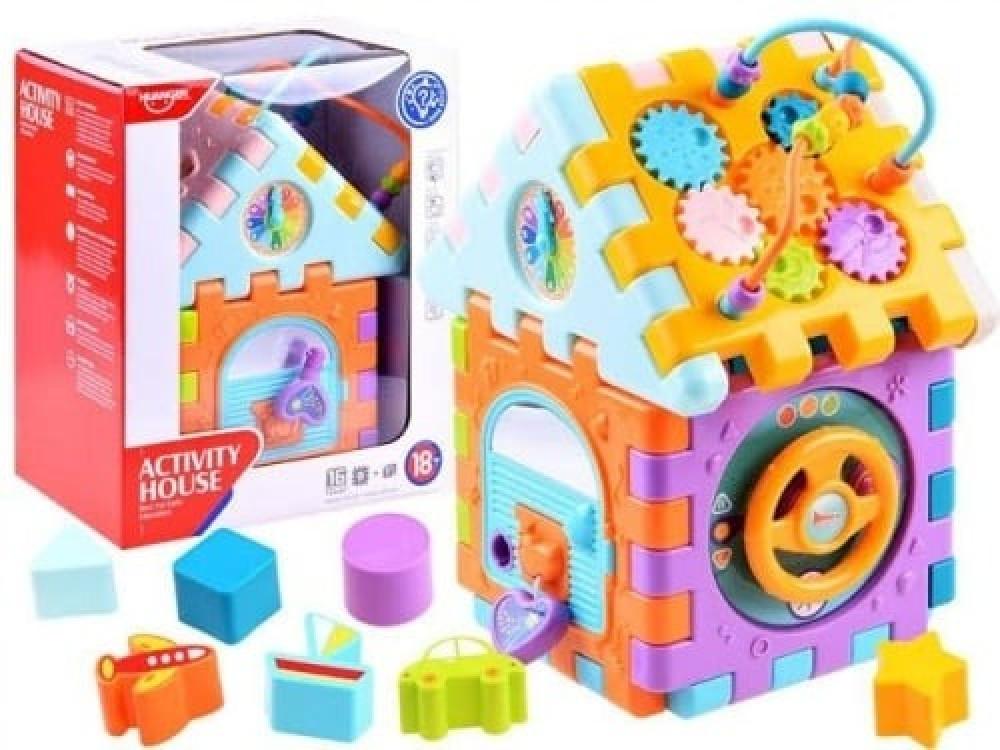 مكعبات تركيب منزل لعبة تركيب مكعبات المنزل  لعبة تركيب المكعبات الذكية