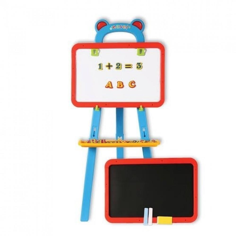 سبورة رسم للاطفال مع حامل سبورة الاطفال سبورة اطفال بوجهين