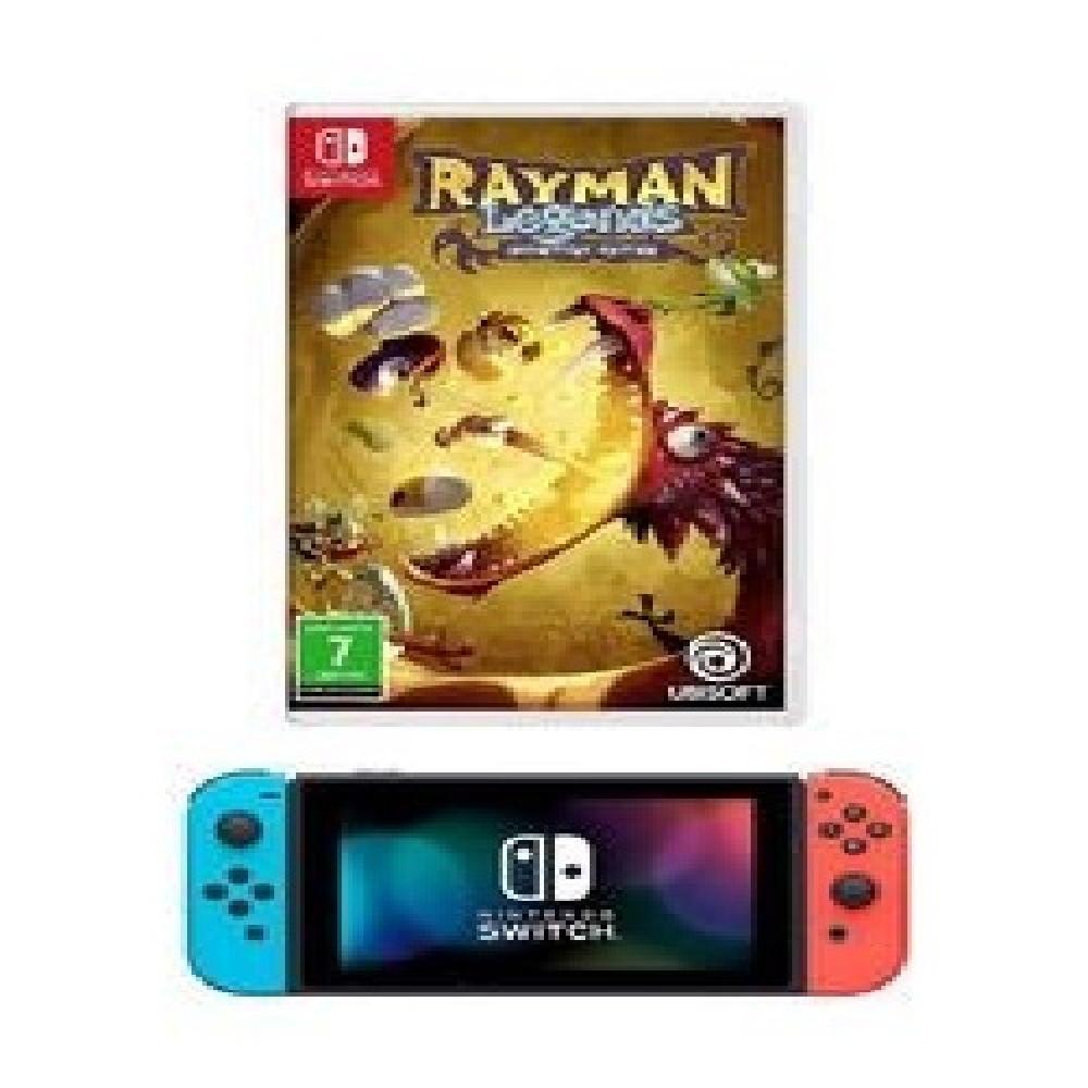 جهاز ألعاب سويتش مزود بلعبة Super Mario  جهاز الألعاب نينتندو سويتش